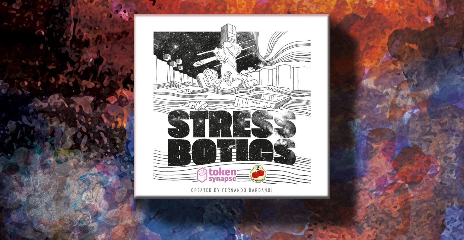 Stress Botics game box art