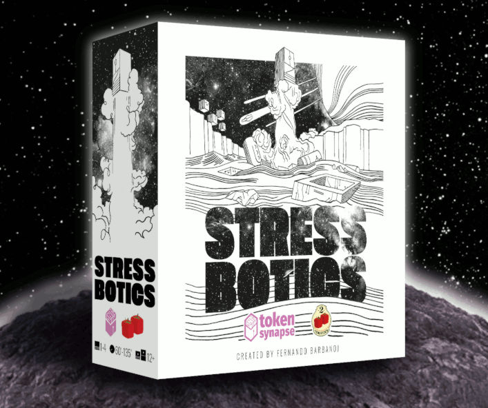 Stress Botics game box